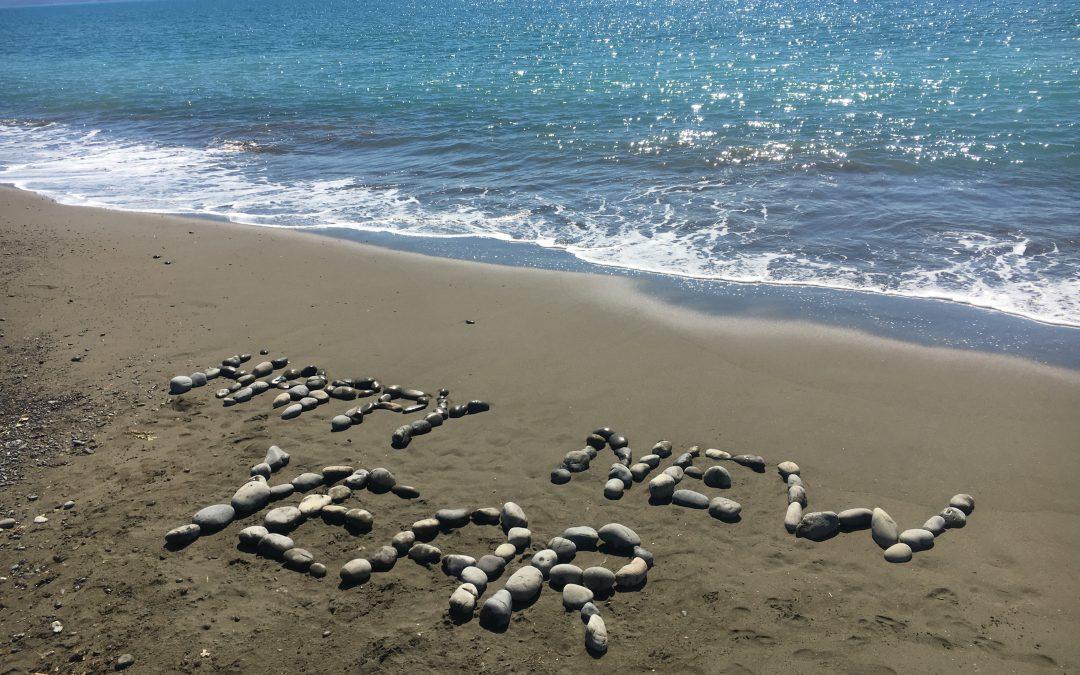 Vacances d'été dans l'île du sud